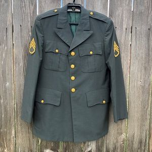 Vietnam US Army MILITARY JACKET  Staff Sergeant